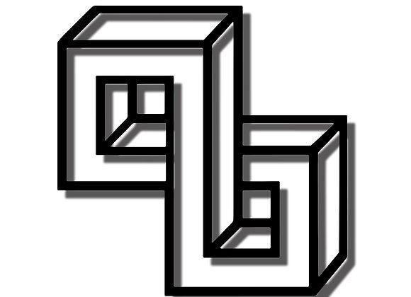 3D Double Square