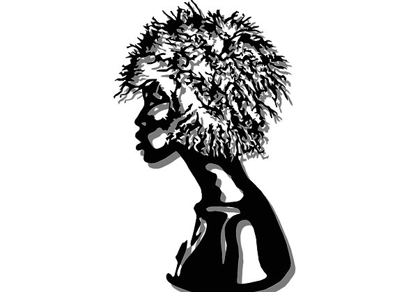 Afro Bust