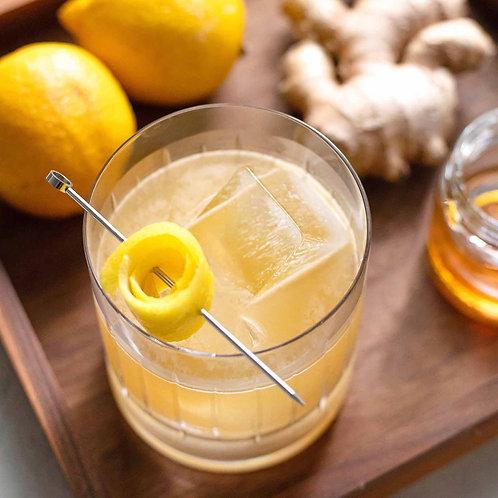 蘋果汁 +薑汁 + 蜂蜜
