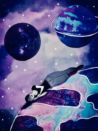 Drifting Through Space