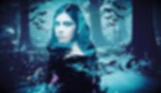 Winter forest double exposure ❄️🦇🌲 -mi