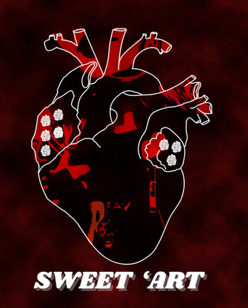 Sweet 'Art logo digital print