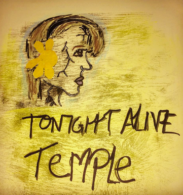 Tonight Alive- Temple cover art