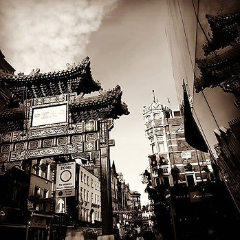 #chinatown #london #monochrome #blackand