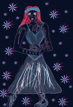 Ghost Ballerina glitch version