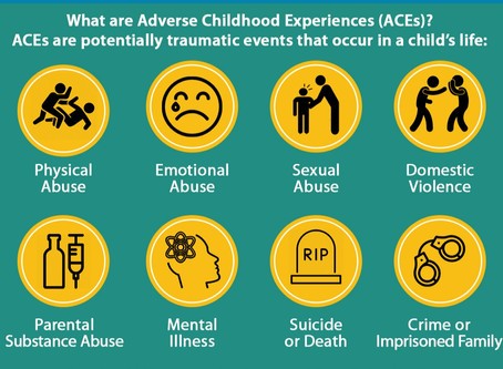 What did the Adverse Childhood Experiences study (ACES, found on the CDC.gov website) teach us?