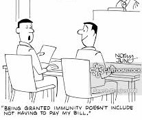 """Tell me about """"immunity"""" and how it pertains to the family and juvenile dependency courts."""