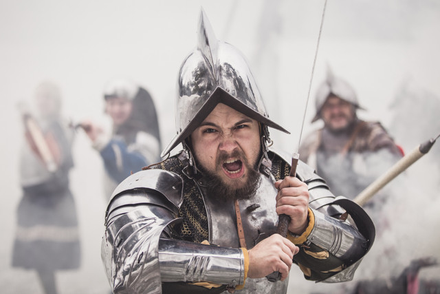 krig fantasy bokomslag porträtt coolt