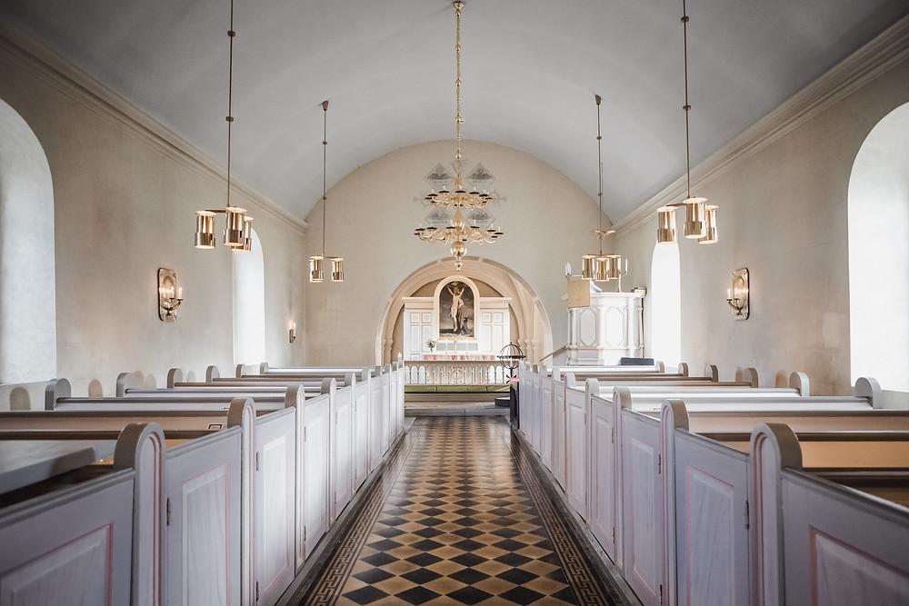 Bröllop i Härslövs kyrka