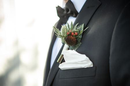 Bröllop marskalk bukett