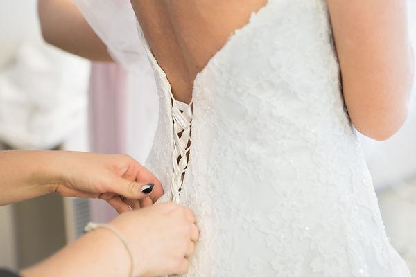 bröllop klänning brud porträtt fotograf
