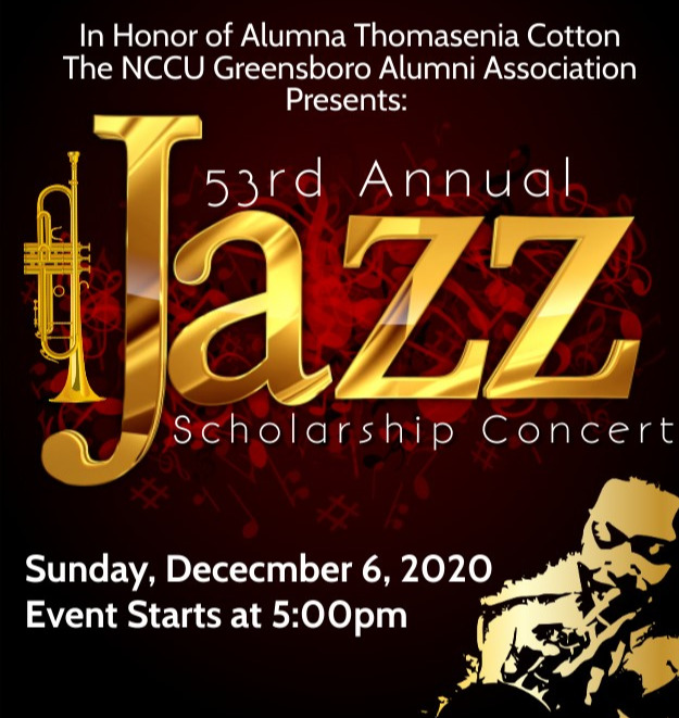 This year the NCCU Greensboro Alumni Chapter is dedicating the Annual Jazz Concert to Alumna Thomesi
