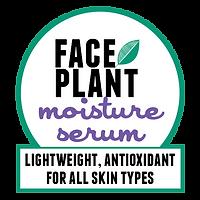 Face Plantmoisture serum: lightweight, antioxidant for all skin types