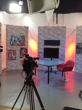 Estúdio - PGM TV 3 câmeras