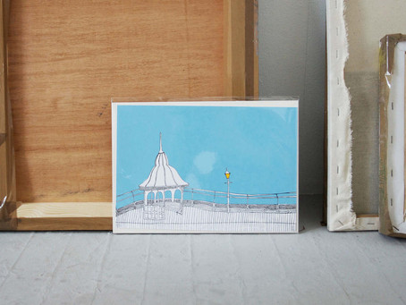 Anglesey Screen Prints for Janet Bell