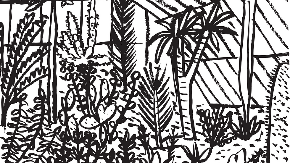 Kew Gardens #3 Print (A3)