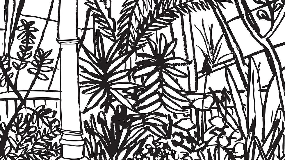 Kew Gardens #2 Print (A3)