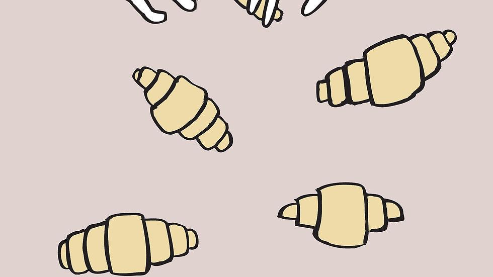 Croissants Print (A3)