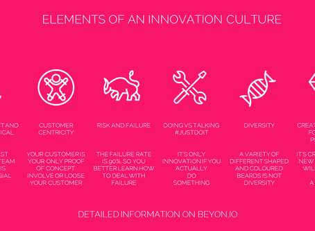 Elements of an innovation culture