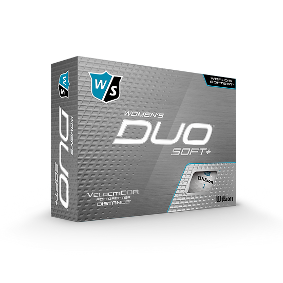 Wilson Duo Soft+ Women's 1 Printed Golf Balls