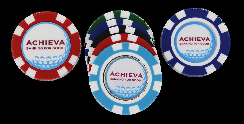 Tri-Dec Poker Chip