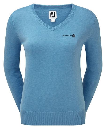 FJ Women's Wool Blend V-Neck Pullover