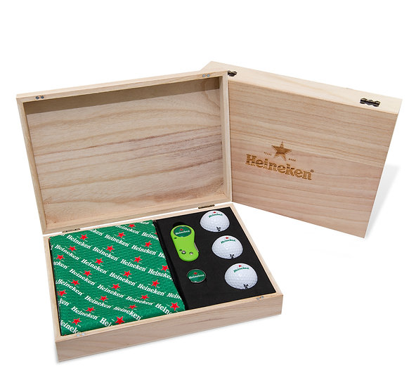 Flix Lite Wooden Presentation Box
