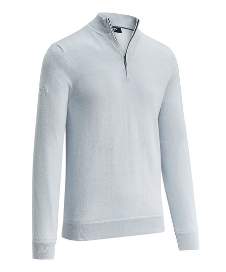 Callaway Gent's Windstopper Quarter Zipped Sweater