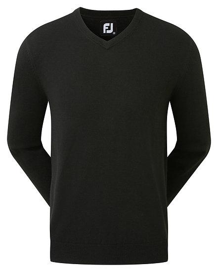 FJ Gent's Wool Blend V-Neck Pullover