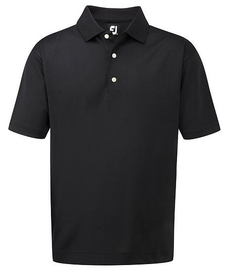 Footjoy (FJ) Gent's Stretch Pique Solid Polo - Traditional Fit