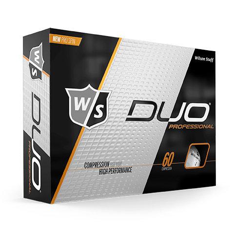Wilson Duo Pro Urethane Print Golf Balls