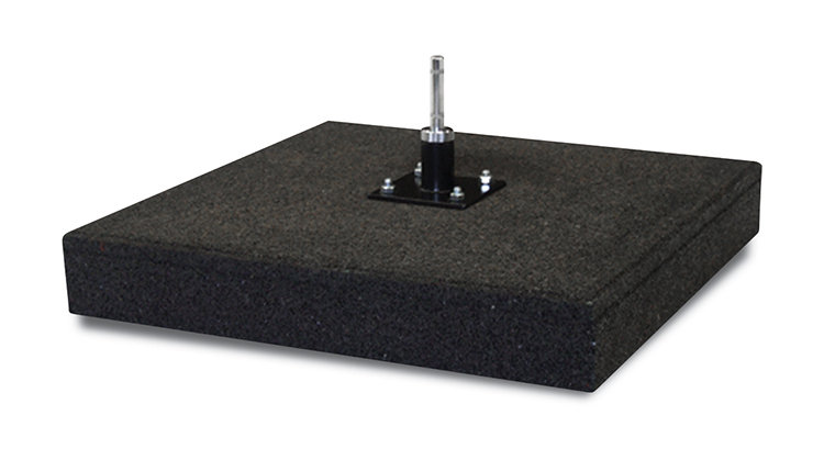 20kg Rubber base with rotator