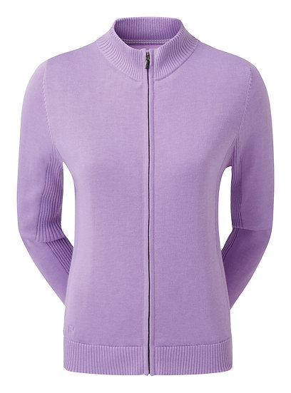 FJ Women's Full Zip Lined Wool Blend Pullover