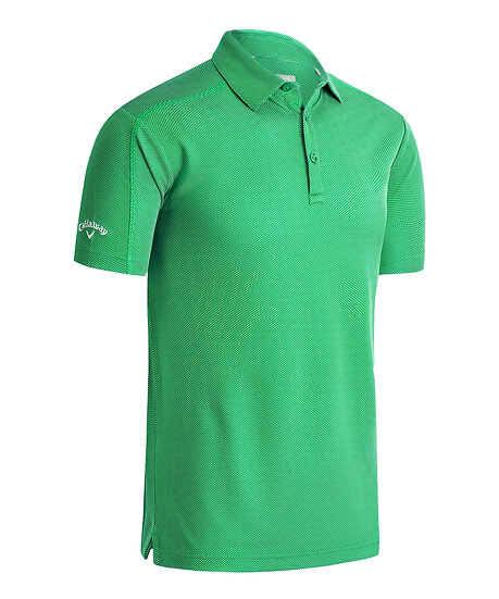 Callaway Gent's Box Jaquard Polo