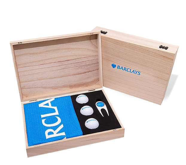 Contemporary Wooden Presentation Box