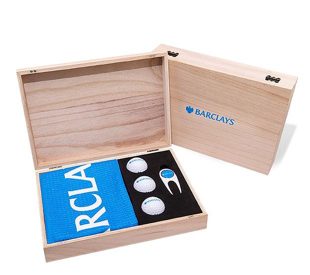 Contemporary Wooden Presentation Box