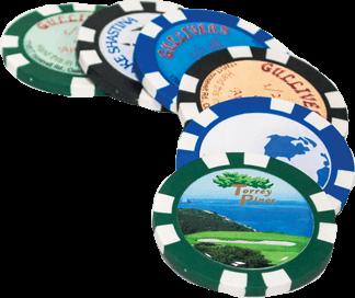 Domed Poker Chip