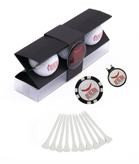Hat Clip with Domed Poker Chip X-Pack