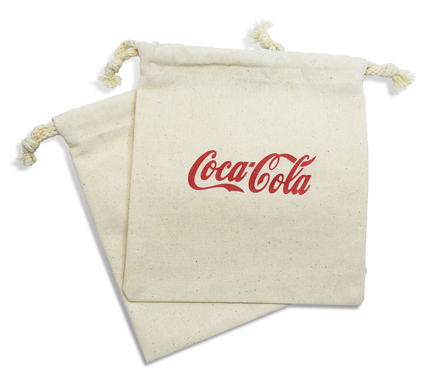 Organic Cotton Drawstring Bag - Supplied Empty