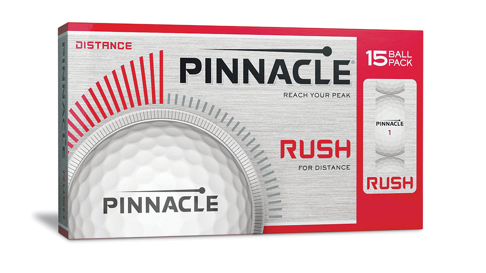 Pinnacle Printed Golf Balls