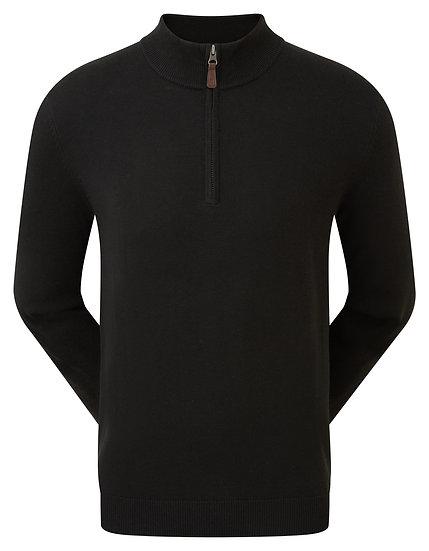 FJ (Footjoy) Gent's Wool Blend Half Zip Pullover