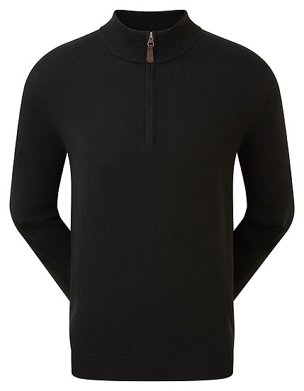 FJ Gent's Wool Blend 1/2 Zip Pullover
