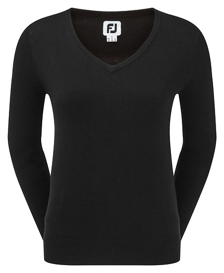 Footjoy (FJ) Women's Wool Blend V Neck Pullover