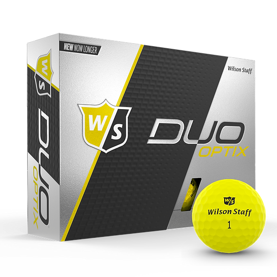 Wilson Duo Optix Printed Golf Balls