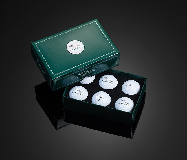 Titleist Dome Label 6-Ball Box