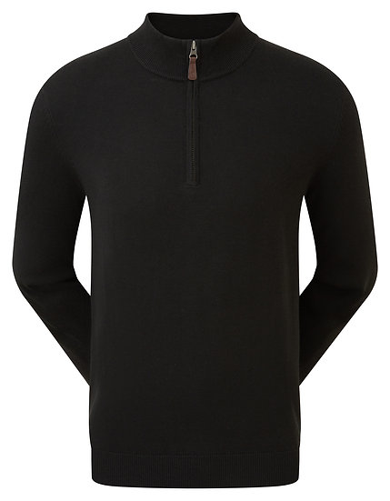 Footjoy (FJ) Gent's Wool Blend Half Zip Pullover
