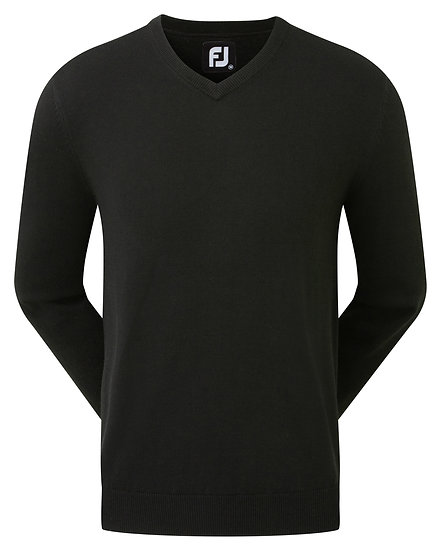 Footjoy (FJ) Gent's Wool Blend V Neck Pullover