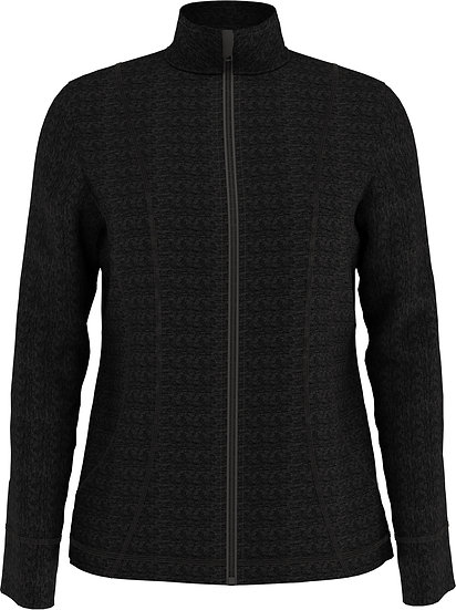 Callaway Women's Heather Waffle-Fleece Jacket