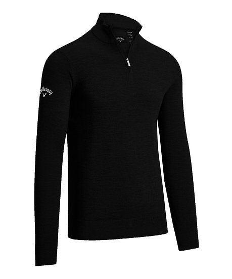 Callaway Gent's Quarter Zipped MerinoSweater