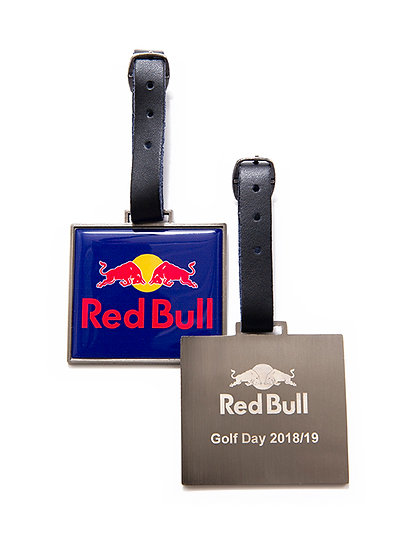 Rectangular Metal Bag Tag